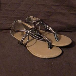 Altar'd State Bronze Sandals!!
